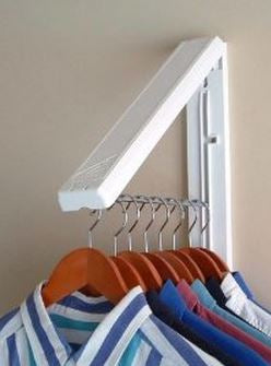 LAUNDRY WALL MOUNT FOLDABLE HANGER
