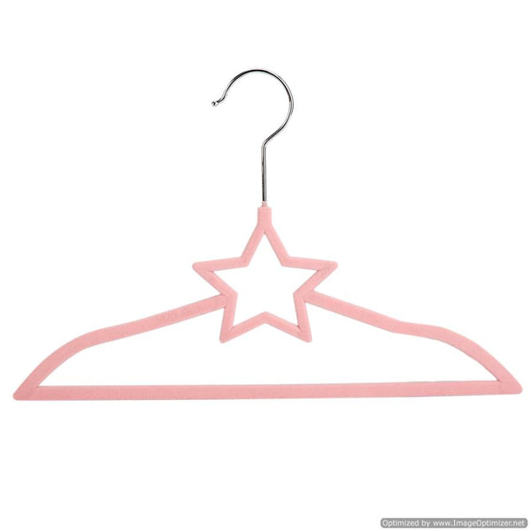 KIDS HANGER SET- PINK STAR