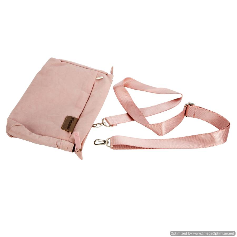 PINK DOCUMENT BAG