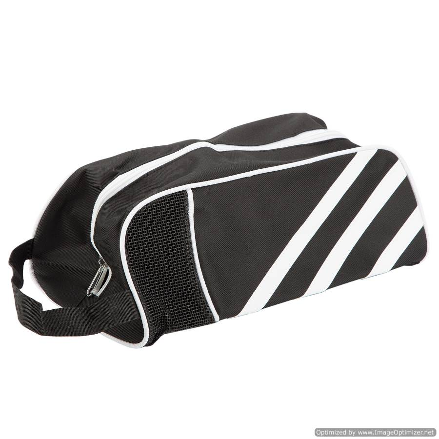 TRAVEL/SPORT SHOE BAG - BLACK