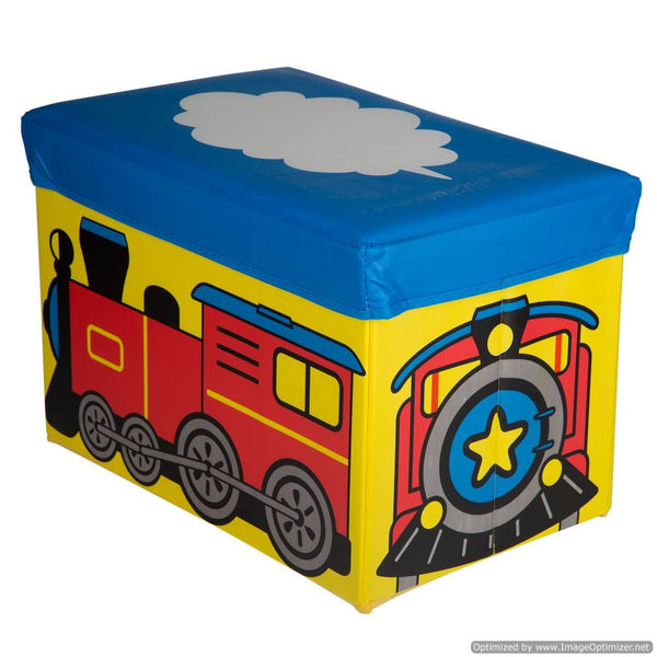 KIDS TRAIN TOY BOX