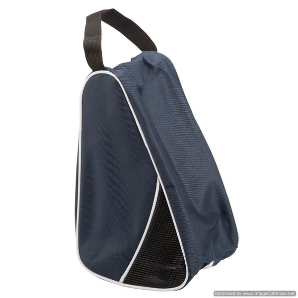 BLUE TRAVEL/SPORT SHOE BAG BLUE - L-SHAPED
