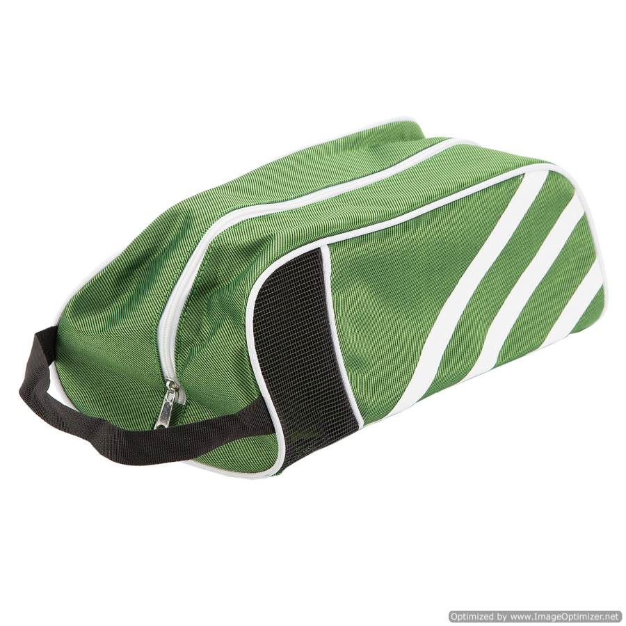 TRAVEL/SPORT SHOE BAG  - GREEN