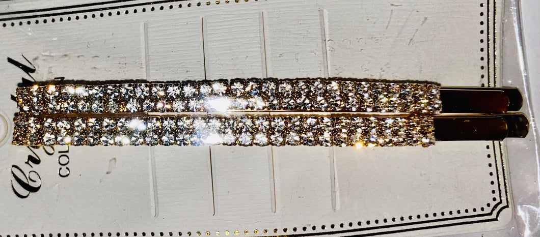 Bling Bobby pins
