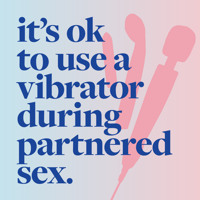 Why do people use vibrators during partnered sex?