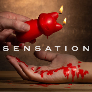 Fox Drip BDSM/ Sensation Play Candle