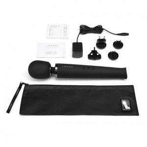 Le Wand Rechargeable Wand Massager Black