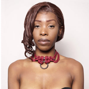 Kubi Choker with Whip by Figure of A