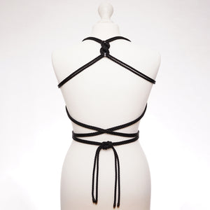 Self-Tie Torso Harness by Figure of A