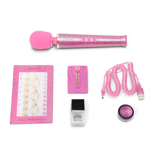 All That Glimmers Le Wand Petite Rechargeable Wand Massager