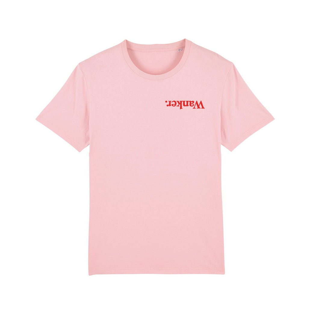 Wanker Tee Self & More Pink