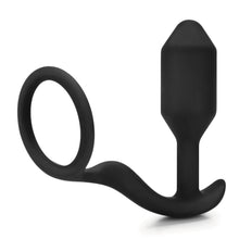 Load image into Gallery viewer, b-vibe Snug and Tug Butt Plug and Cock Ring - Self & More - Anal Toys