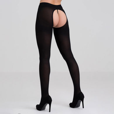 Captivate Black Spanking Tights