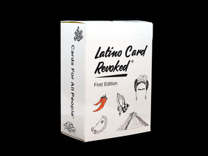 Latino Card Revoked - First Edition