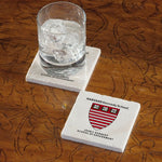 Harvard University Kennedy School Marble Coaster - Single