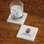 Brown University Alpert Medical School Marble Coaster - Single