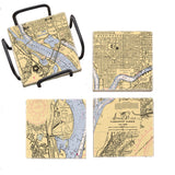 Washington, DC Mural Coaster Set