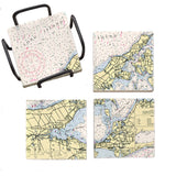 Peconic Bay, NY Mural Coaster Set