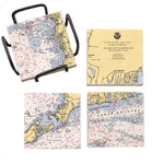Woods Hole, MA Mural Coaster Set