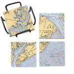 Hilton Head, SC Mural Coaster Set