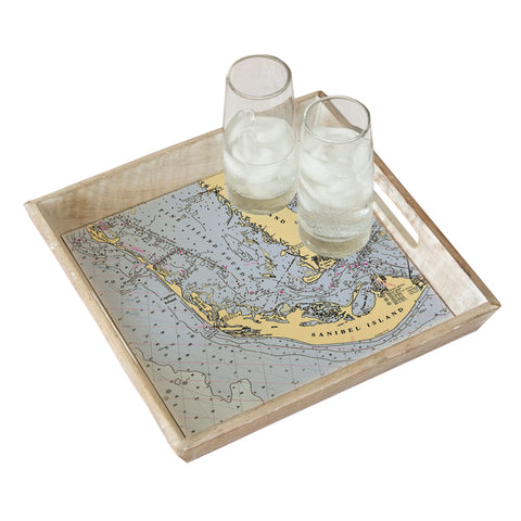 Sanibel Island, FL Serving Tray