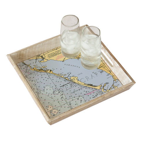 Longboat Key, FL  Serving Tray