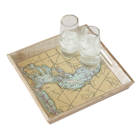 St. Joseph Channel, Ontario Serving Tray