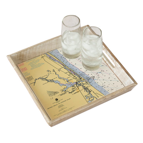 Jupiter Inlet, FL Serving Tray