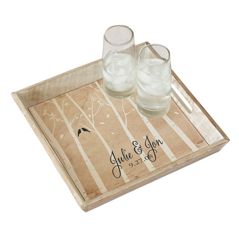 Personalized Anniversary Serving Tray