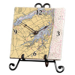 Shrewsbury, NJ Marble Desk Clock