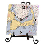 Cape Cod, MA Marble Desk Clock