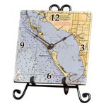Longboat Key, FL  Marble Desk Clock