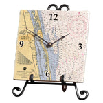 Vero Beach, FL Marble Desk Clock