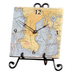 Tampa Bay, FL  Marble Desk Clock