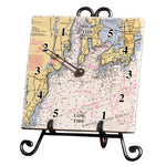 Narragansett Bay Marble Tide Clock