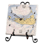 Personalized Nautical Chart Tide Clock
