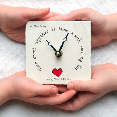 Time Spent Together Mini Clock