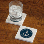 Knock It Off, Rhode Island! Marble Coaster