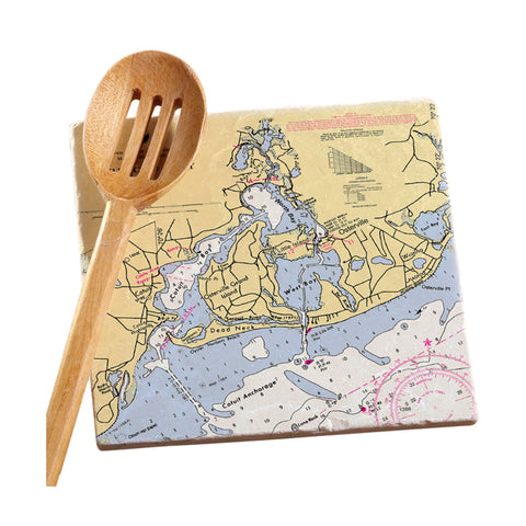 Osterville, MA  Marble Trivet