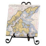 Orient Point, NY  Marble Trivet