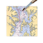 Chesapeake Bay Glass Cutting Board
