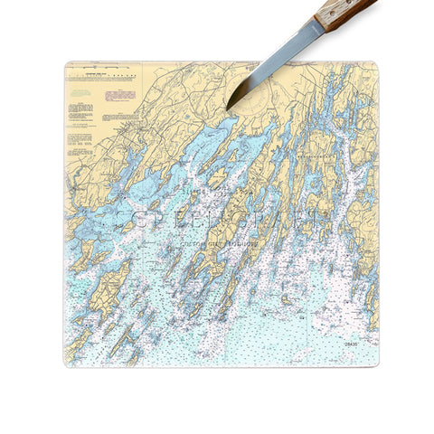 Brunswick, ME Glass Cutting Board