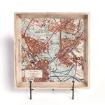 Your Neighborhood Map Wood Serving Tray