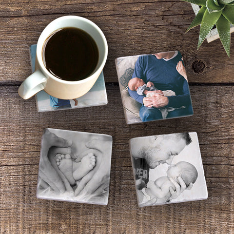 New Baby - Photo Coaster Set