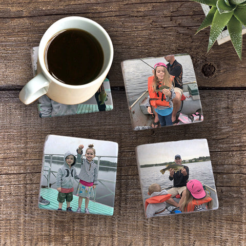 Moments with Dad - Photo Coaster Set
