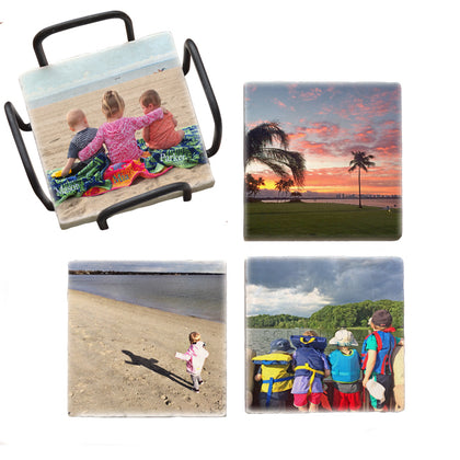 Your Photo Coaster Set