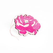 Load image into Gallery viewer, Single Wooden Heart Decoration - Heart or Peony