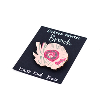 Load image into Gallery viewer, Wooden brooch - choose your design