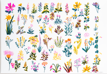 Load image into Gallery viewer, Wildflowers Risograph Print
