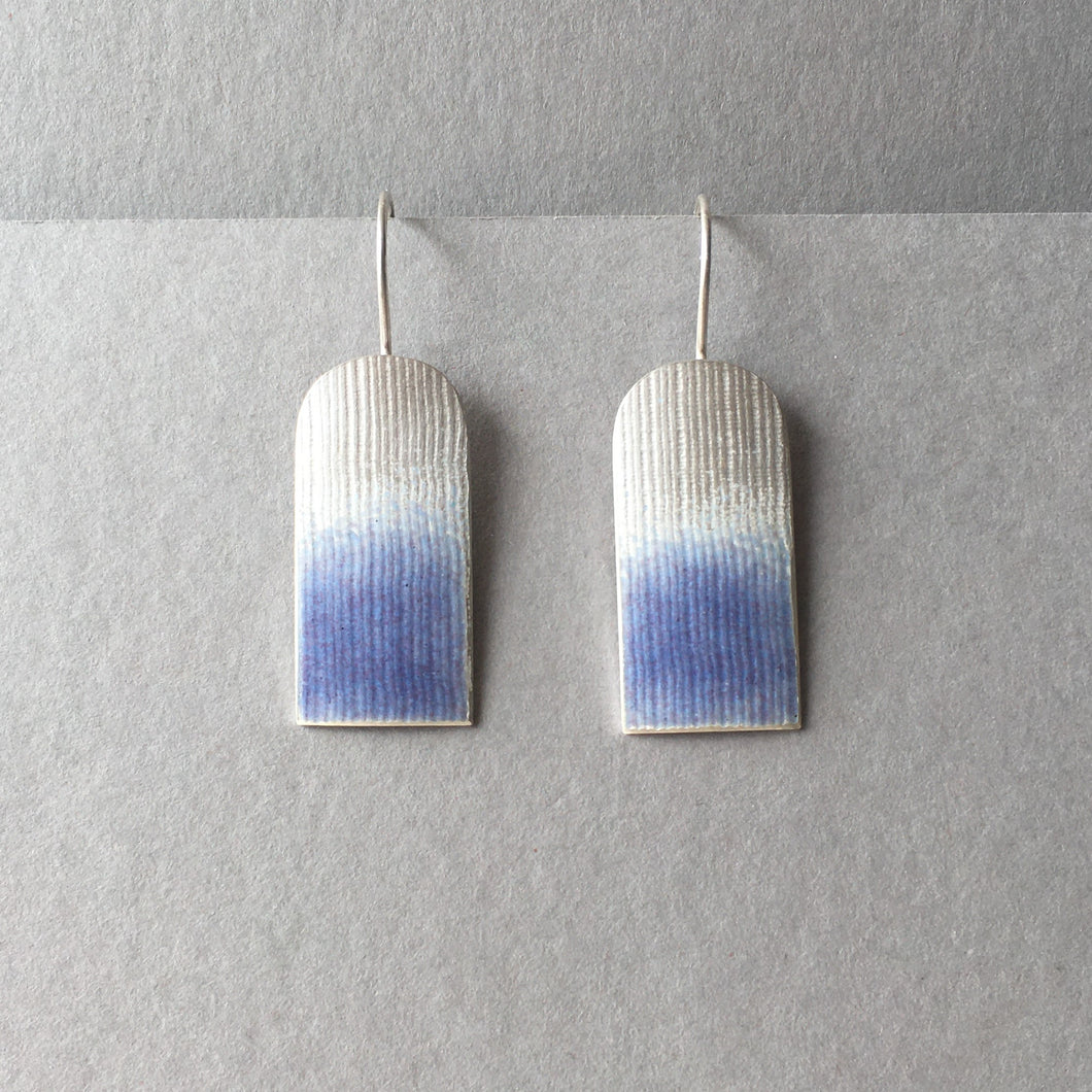 Violet Arch Earrings